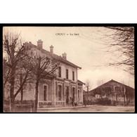 02 CROUY (Aisne) - La Gare - Other Municipalities
