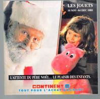 (jouets) Catalogue Noël 1993 CONTINENT   (CAT 2013)) - Pubblicitari