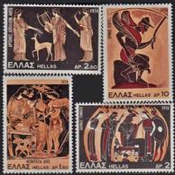 Greece, 1974, Michel 1169-1171, Greek Mythology, 4v, MNH - Unused Stamps