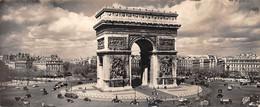 ¤¤  -   PARIS  -   Carte Panoramique   -   L'Arc De Triomphe        -   ¤¤ - Arc De Triomphe