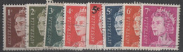 Australia - #394-99+401A+402A(8) - Used - 1966-79 Elizabeth II