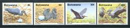 Botswana 1989 Slaty Egret Set MNH (SG 673-676) - Botswana (1966-...)