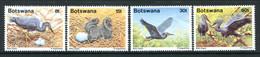 Botswana 1989 Slaty Egret Set HM (SG 673-676) - Botswana (1966-...)