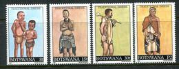 Botswana 1990 Traditional Dress Set MNH (SG 697-700) - Botswana (1966-...)