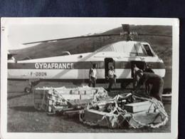 73 - Saint Martin De Belleville - MOUTIERS - HELICOPTERE DE TRANSPORT - GYRAFRANCE - 1962 - Luftfahrt