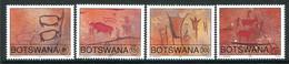 Botswana 1991 Rock Paintings Set MNH (SG 709-712) - Botswana (1966-...)