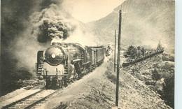 Thème Train Locomotives Etat Norvégien Compound Type 1 D 2 CP Ed. H.M.P. N°1806 Locomotive Vapeur - Trenes