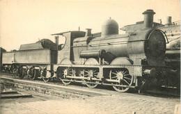 Thème Train Locomotives Anglaises Great Western Railway CP Ed. H.M.P. N°1807 Locomotive Vapeur - Trenes