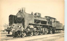 Thème Train Locomotives Finlande Machine N°1001 CP Ed. H.M.P. N°1810 Locomotive Vapeur - Trenes