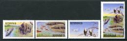 Botswana 1991 African Tourism Year - Okavango Delta Set MNH (SG 717-720) - Botswana (1966-...)