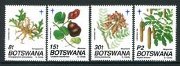 Botswana 1991 Christmas - Seed Pods Set MNH (SG 721-724) - Botswana (1966-...)
