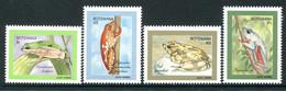 Botswana 1992 Climbing Frogs Set MNH (SG 729-732) - Botswana (1966-...)
