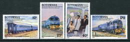 Botswana 1992 Deluxe Railway Service Set MNH (SG 733-736) - Botswana (1966-...)
