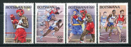 Botswana 1992 Olympic Games, Barcelona Set MNH (SG 756-759) - Botswana (1966-...)