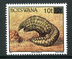 Botswana 1994 Animal Surcharge - 10t On 12t Pangolin MNH (SG 792) - Botswana (1966-...)