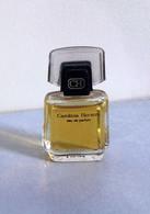 """Miniature """"CAROLINA HERRERA""""  Eau De Parfum 4 Ml Sans Boite (71-Lo) - Miniatures Femmes (sans Boite)"""