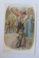 Soldaten, Muss I Denn, Muss I Denn Zum Städtle Raus,  1917, Feldpost  ♥ (47099) - Guerra 1914-18