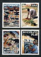 Botswana 1998 Weavers Set MNH (SG 890-893) - Botswana (1966-...)