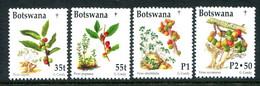 Botswana 1998 Christmas - Plants Set MNH (SG 895-898) - Botswana (1966-...)