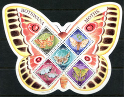 Botswana 2000 Moths MS MNH (SG MS920) - Botswana (1966-...)