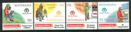 Botswana 2000 United Nations Literacy Decade Set MNH (SG 921-924) - Botswana (1966-...)
