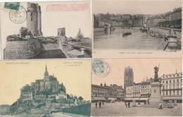 Lot  De 1000 Cartes De France. CPA ET CPSM - 500 Cartoline Min.