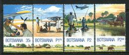 Botswana 2000 Airborne Medical Service Set MNH (SG 929-932) - Botswana (1966-...)