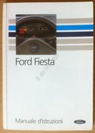 Libretto Uso E Manutenzione - FORD Fiesta - 1990 - Originale - Other Collections