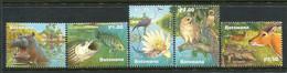 Botswana 2000 Wetlands - Okavango Delta Set MNH (SG 933-937) - Botswana (1966-...)