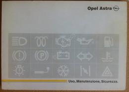 Libretto Uso E Manutenzione - OPEL Astra - 1992 - Originale - Other Collections