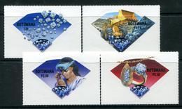 Botswana 2001 Diamonds Set MNH (SG 940-943) - Botswana (1966-...)