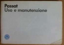 Libretto Uso E Manutenzione - VolksWagen Passat - 1988 - Auto Epoca Vintage - Other Collections