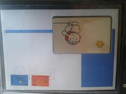 Netherlands - Mint Stamp Enveloppe With Chipphonecard - Niederlande