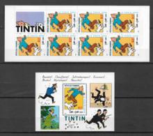 FRANCE - Yvert  N° BC 3305 + Bloc 28 ** TINTIN Et MILOU (Fête Du Timbre) - Neufs