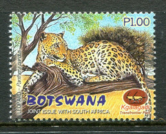Botswana 2001 Kgalagadi Wildlife Park - 1p Leopard MNH (SG 945) - Botswana (1966-...)