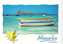 ** Lot De 3 Cartes ** ILE MAURICE Mauritius : Barques Typiques / Typical Boats - CPM GF - Afrique Africa Océan Indien - Mauritius