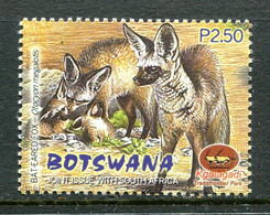 Botswana 2001 Kgalagadi Wildlife Park - 2p50 Bat-eared Fox MNH (SG 947) - Botswana (1966-...)