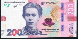UKRAINE NLP 200 HRYVEN   2019 UNC. - Ucrania
