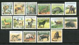 Botswana 2002 Mammals Set MNH (SG 974-989) - Botswana (1966-...)