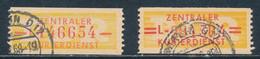 DDR Dienstmarken B 16/17 Gestempelt Originale Mi. 10,50 - Service