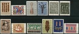 Greece,1966, Michel 921- 932, Greek Folk Art, 12v, MNH - Greece