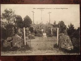 Cpa De Septembre 1918, Louisfert Le Calvaire Mégalithique, 44 Loire Atlantique, Phototypie Lacroix , écrite - Other Municipalities