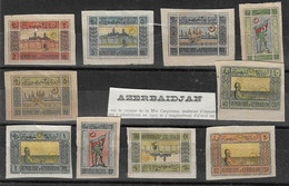 Azerbaidjan Petit Lot Voir Scan - Azerbaidjan