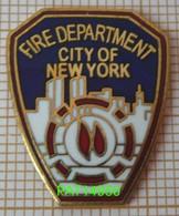 POMPIERS AMERICAINS  FIRE DEPARTMENT  CITY OF NEW YORK  En Version EGF - Firemen
