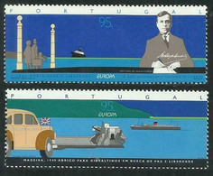 1995Portugal2074-2075Europa Cept / Transport6,00 € - Europa-CEPT