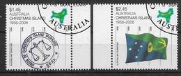 Australien / Christmas Island 2008  M.Nr. 632 / 633 , 50 Jahre Australisches Außengebiet - Gestempelt / Fine Used / (o) - Christmas Island