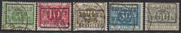 """Taxe - Série Complète çàd TX12A / 16A + Préoblitéré """"Bruxelles 1919"""". Superbe ! - Stamps"""