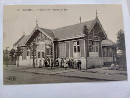 Carte Postale Ancienne -  AUCHEL - L' Oeuvre De La Goutte De Lait - Altri Comuni