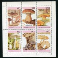 SALE  Abkhazia   Mushrooms  MNH - Mushrooms
