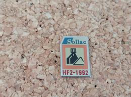 PINS SOLLAC  HF2 1992 - Pin's